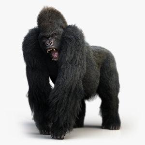 gorilla rig xgen-core model