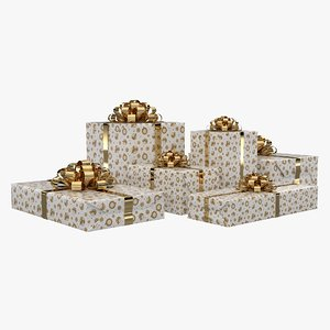 gift boxes 3D