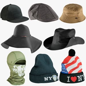 3D realistic hats 2 balaclava