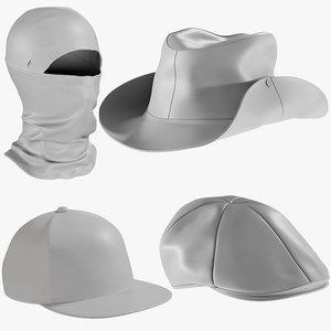 3D mesh hats 12 -