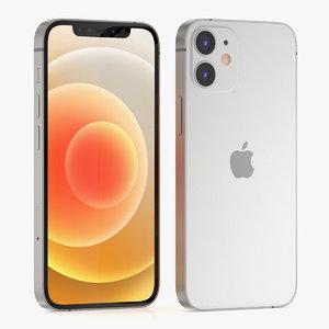 3D apple iphone phone model