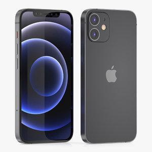 apple iphone phone 3D