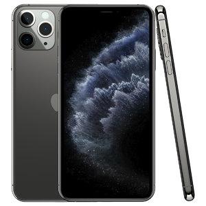 3D apple iphone 11 pro model