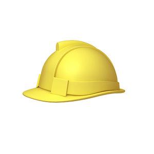 3D model safety helmet cartoon
