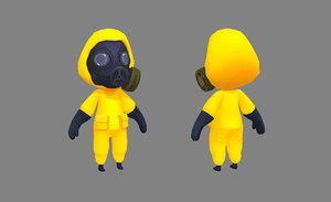 protectiveclothing gasmask 3D model