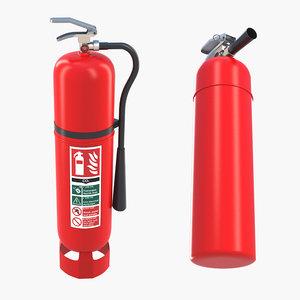 3D extinguishers