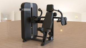 gym equipment 1 3D