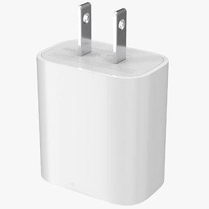 3D apple 20w type c