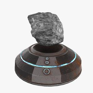 3D antigravity device model