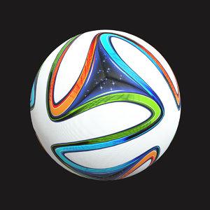 3D brazil ball