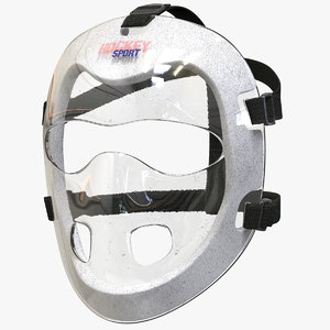 field hockey mask 3D