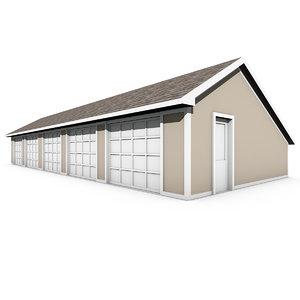 3D garage doors model