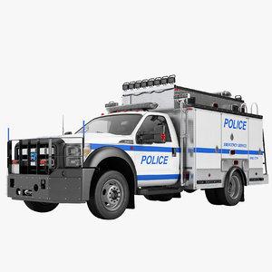 3D f450 2012 police