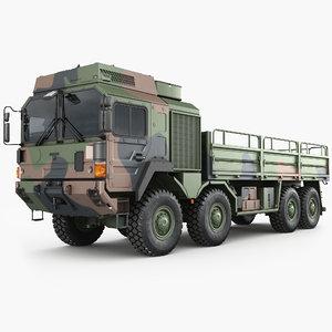 man hx77 trucks 3D model
