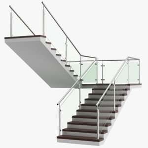real u stair 3D model