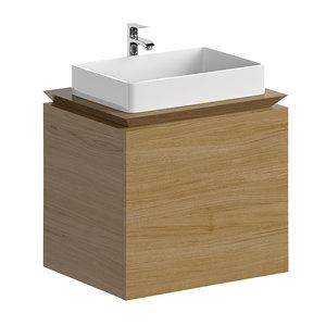 3D model washbasin cabinet nimbus 1