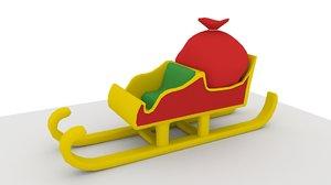 3D sleigh