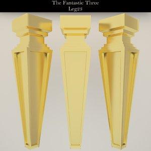 leg 3D