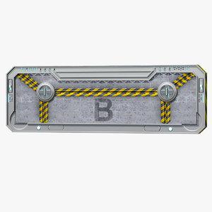 3D gate b model
