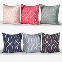 Decorative pillows Houzz set 082