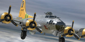 boeing b-17 model
