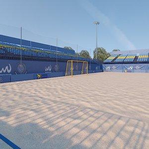 football soccer arena 3D