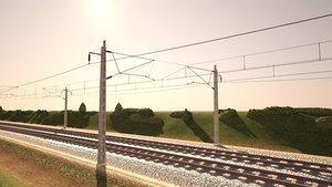 3D tileable railway