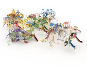 playground kid model