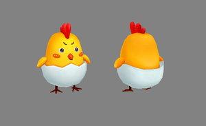 3D chick