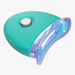 household led teeth whitening 3D model