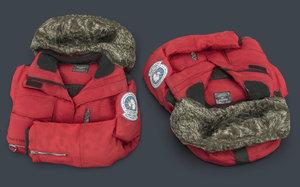 antarctic jacket 3D model