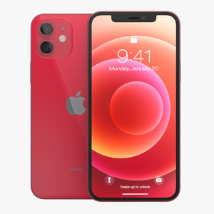 3D apple iphone 12 product