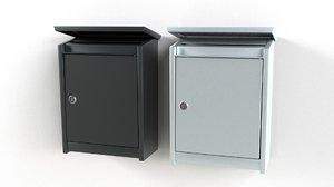 mailboxes letterboxes 3D model