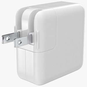 apple 30w usb type 3D model