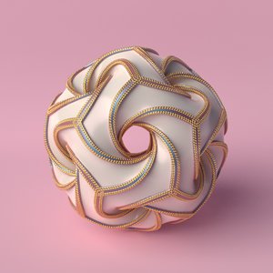 object abstract 3D model