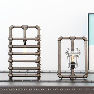 desk lamps 3D