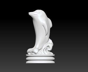 3D chess queen