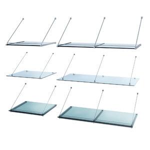 glass awnings set model
