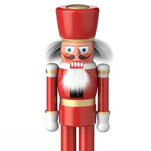 christmas nutcracker 3D model