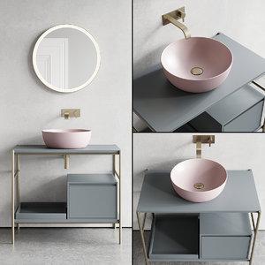 vanity velo unit designers 3D model