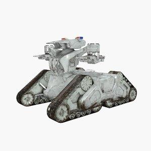 3D tank robot
