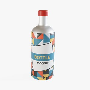 bottle cycle 3D model