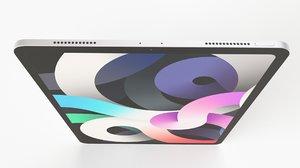 3D apple ipad air 4 model