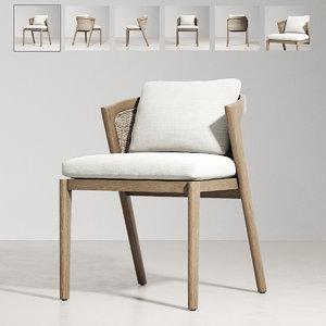 outdoor furniture malta teak 3D
