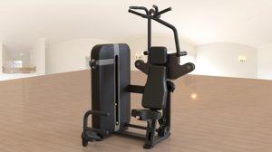 gym equipment 3 3D model