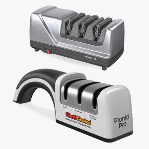 knife sharpeners sharp 3D model