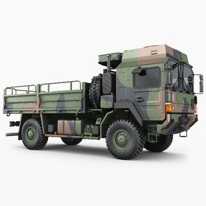 man hx60 trucks military 3D