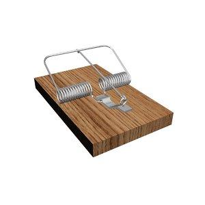 3D mousetrap trap mouse
