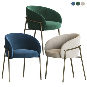rimo dining chair parla 3D