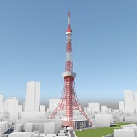 tokyo tower and environment